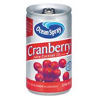Ocean Spray Cranberry Juice Drink Cranberry 5.5 Oz Can 20450 on sale