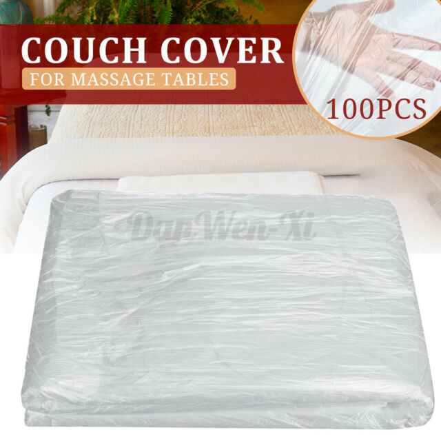 100pcs/Set Couch Cover For Massage Tables Bed Treatment Waxing Protection Covers