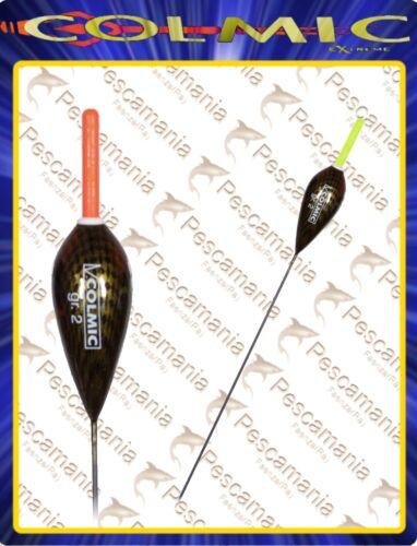 """Galleggiante colmic /""""Atlantic/"""" 0,3-6,0 gr Deriva in fibra e portastalight 4,5mm"""