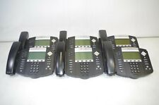 Lot Of 6 Polycom Soundpoint Ip 550 Business Phones No Stands