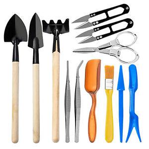 Mini Gardening Hand Tools Set Reusable Rustproof Garden Bonsai Tools Kits