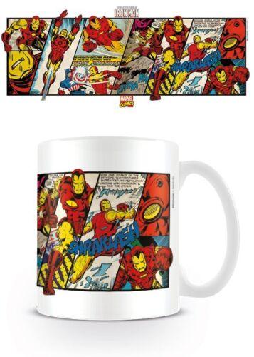 Iron Man panneaux Tasse par Pyramide MG23436 Officiel Marvel Comics Rétro