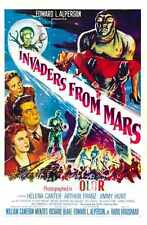 Invaders From Mars Poster 01 A2 Box Canvas Print