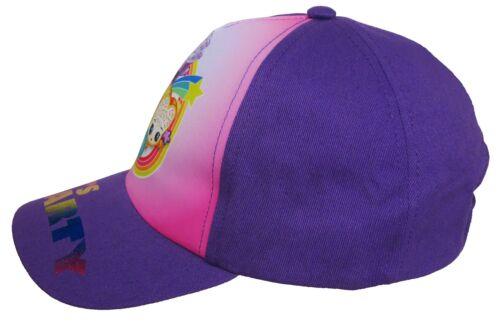 Shopkins Baseball Cap Girls SPK let/'s Party Purple One Size Size 4