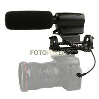 NA-Q7 Shotgun DV Stereo Microphone Mic for Canon 5D Mark II III 7D 550D 600D 60D