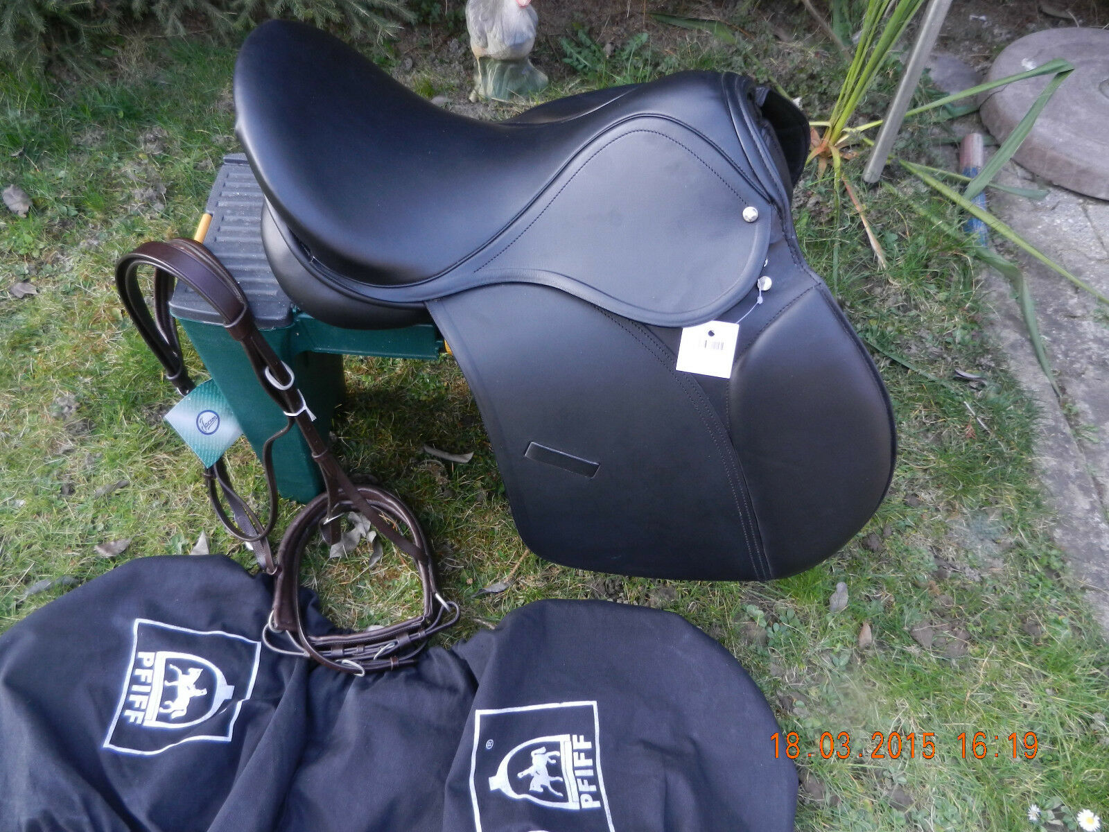 SADDLE A P  BEAUTY  WITH STIRR (VSS)18 Inches,Middle Chamber,echLeder,NEW