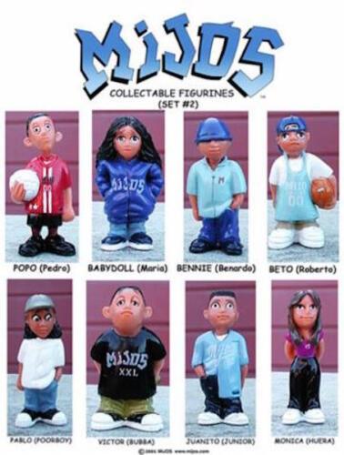 HOMIES Figures Mijos Series 2 Complete Set Lot of 8
