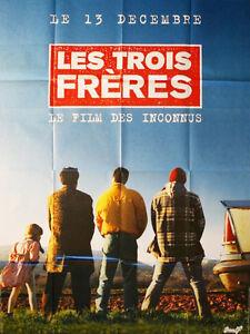 Affiche-120x160cm-LES-TROIS-FRERES-1995-Campan-Bourdon-Pascal-Legitimus-TBE