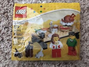 *BRAND NEW* LEGO 40056 THANKSGIVING FEAST Polybag
