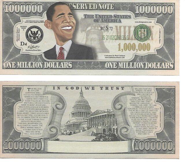 American Biker Million Dollar Bill Set of 100