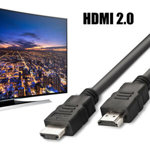 Consumer Electronics Accessories & Parts Hot 2019 Premium Hdmi Cable V2.0 Gold High Speed Hdtv Ultra Hd 2160p 4k 3d 0.5m To 5m