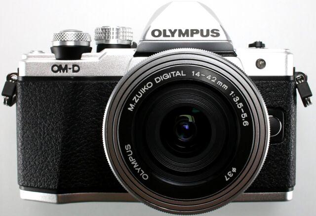 Olympus Om-D E-M10 Mark II Sistema de Cámara 16 Mp Incl. 14-42mm Plata - Top