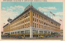 Cohen Brothers Department Store Jacksonville FL Postcard