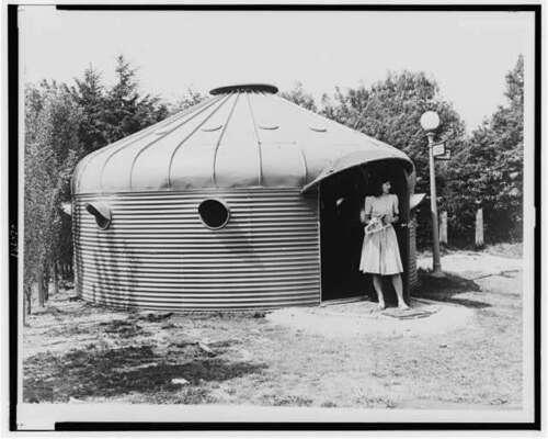 Dymaxion House,Prefabricated House,Defense Workers,Washington,DC,1941