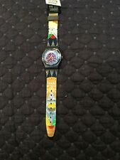 Gents Swatch Watch Tarot. Vintage 1992. GN131. New Old Stock. Box and Papers.