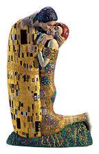 Figur Skulptur Der Kuss Ed van Rosmalen nach Gustav Klimt Jugendstil Secession
