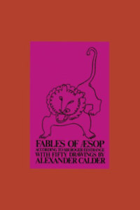 Calder-Alexander-Fables-Of-Aesop-Ltd-E-Rev-E-US-IMPORT-BOOK-NEW