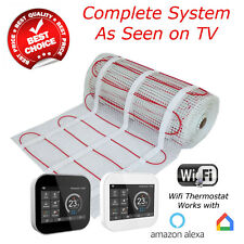 Electric Underfloor Heating mat kit 200w per m2 - Next Day Delivery UK SELLER