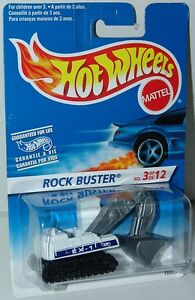 Hot-Wheels-1997-First-Editions-3-12-Excavator-512-Rock-Buster-International-BC