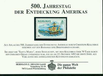 Postfrisch Bahamas 1980 Bs 454 Mi.-nr