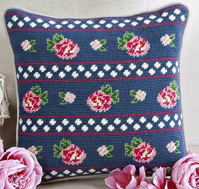 Twilleys TWILIGHT ROSES. TAPESTRY KIT for CUSHION FRONT. CREATIVE GIFT IDEA