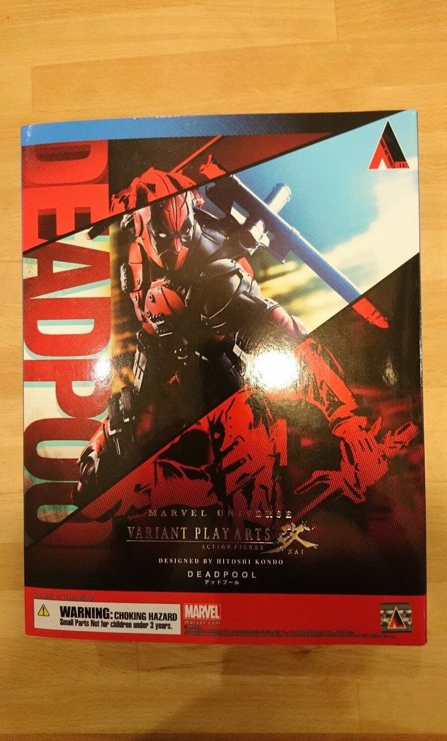 Square Enix Play Arts Kai Variant Marvel Deadpool Figure Genuine BNIB in UK