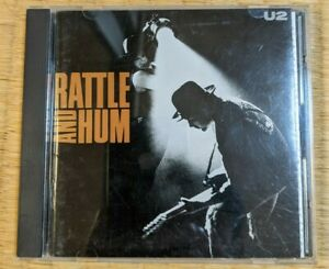 RATTLE AND HUM U2 CDs JAPAN EDITION P33D-20075