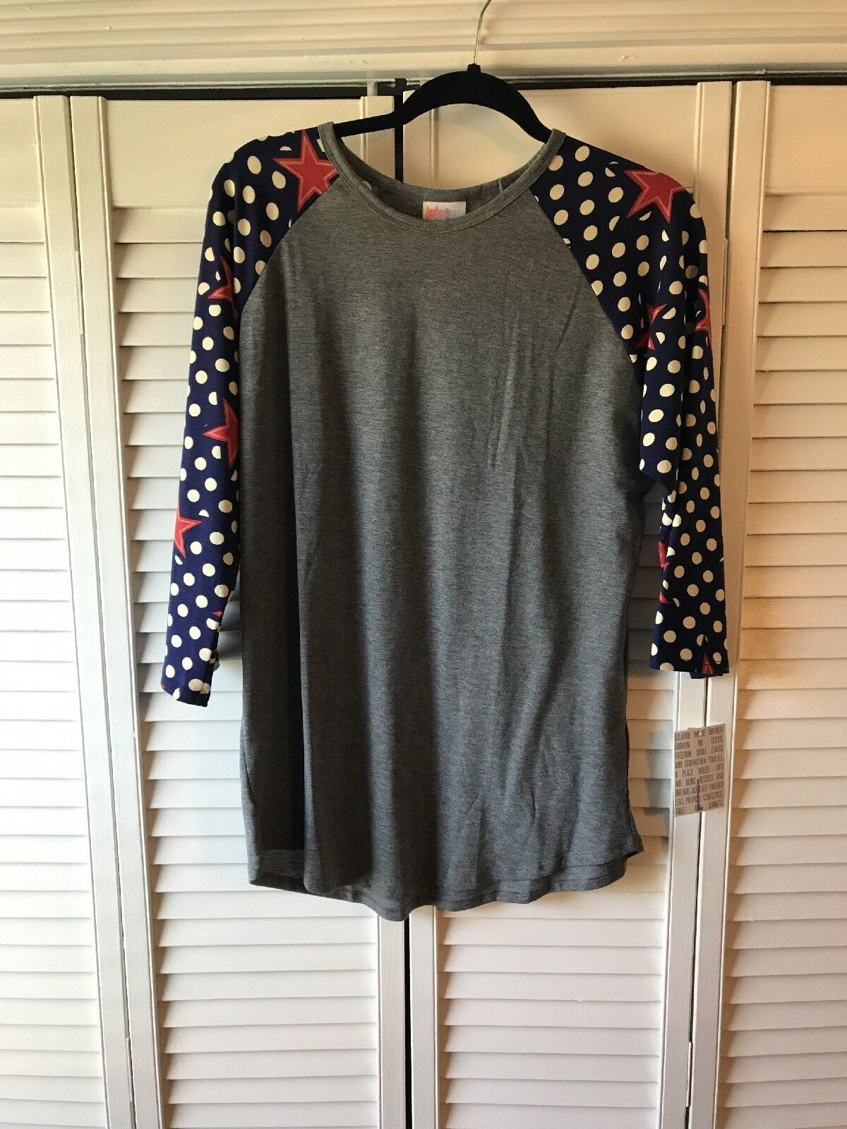 LuLaRoe Randy Unicorn 4th Of July Ameroca L