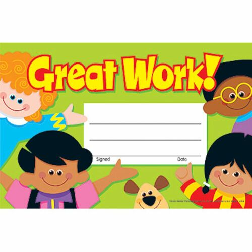 30 Great Work Recognition Awards Pupil//Student Rewards