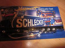 Marbello Schokoladen Bonbons Werbe-Truck Schlecker Süssigkeiten LKW Modell !