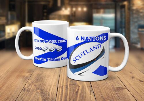 6 Nations Scotland 2020 Rugby Mug