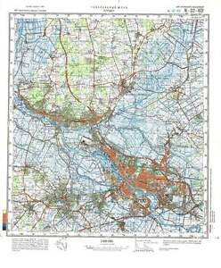 image is loading russian soviet military topographic maps bremen germany 1