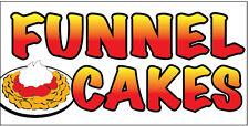3x10 Ft Funnel Cakes Vinyl Banner Sign New Wb