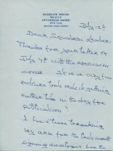 WW2-D-Day-commando-Lord-Lovat-very-rare-signed-letter
