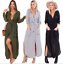 Womens-Long-Sleeves-Cut-Out-Bodycon-Midy-LBD-Dress-Slinky-Sholace-Party-Skirt-UK thumbnail 6