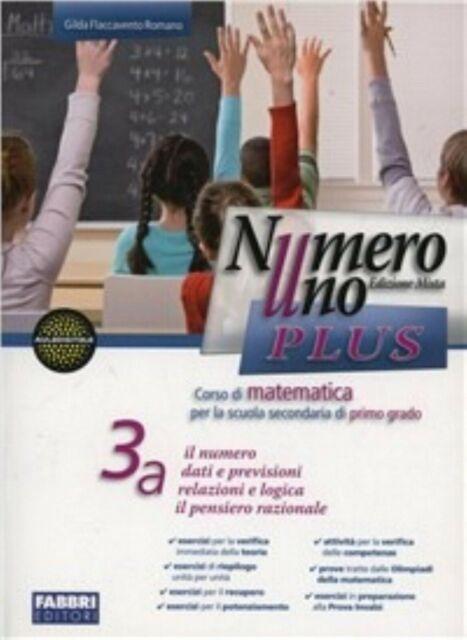 Numero uno plus Vol.3A+3B, Fabbri scuola, Flaccavento Romano codice9788845186011