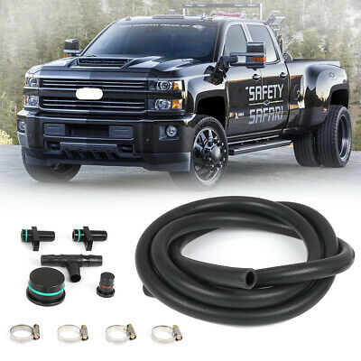 labwork Fuel Injector Return Line Kit Replacement for 2004.5-2010 6.6L LLY Duramax Diesel Pickup Truck Engines