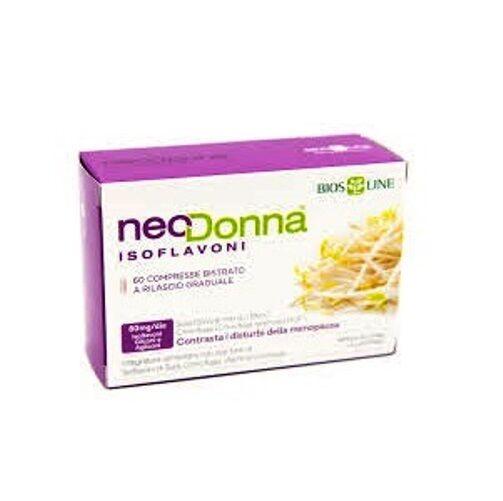 Bios Line NeoDonna Isoflavoni Utile In Menopausa e In Premenopausa 60 compresse