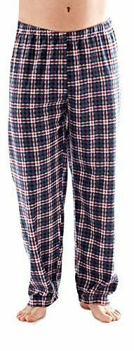 Men 100/% Polyester Lounge Bottom Soft Feel Pyjama Pants Comfortable