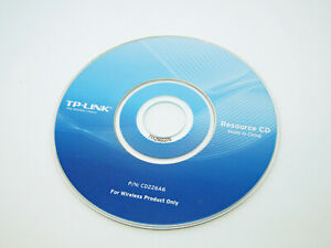 Genuine Wi-Fi Drivers CD Disc Software TP-LINK TL-WR841N 300 Mbps Network Router