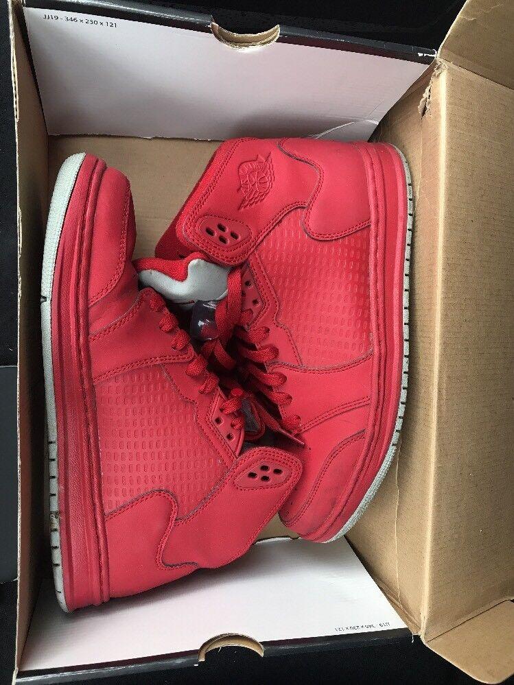 Nike Air Jordan Prime 5 Shoes Sneakers Sz Silver 8 Varsity Red Metallic Silver Sz e10cd9
