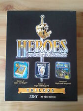 Heroes of Might and Magic Trilogy - Teil I,II,III (1,2,3) PC OVP selten