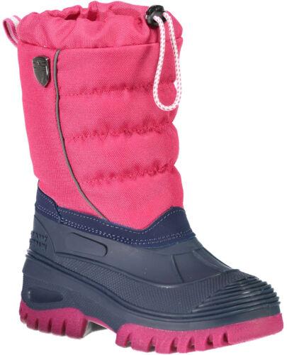 CMP Campagnolo Hanki Enfants Neige Bottes Bottes D/'hiver 3q48064-b833 Pink NEUF