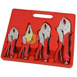 Locking-Grip-Wrench-Set-Vice-Locking-Pliers-Mole-Grips-Soft-Grip-Handle-4pc
