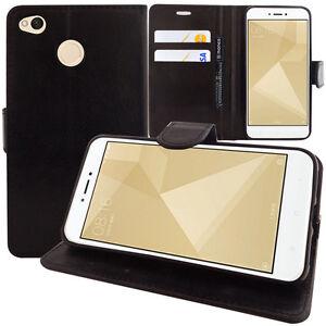 Custodia-Cover-Portafoglio-Supporto-Video-Falda-per-Xiaomi-Redmi-4X-5-0-034