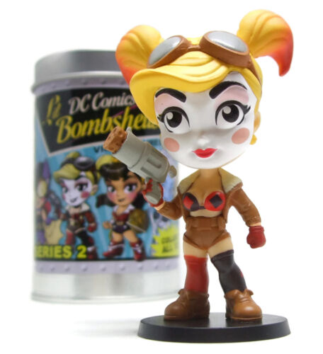 Lil Bombshells Harley Quinn Exclusive Figure Free Comic Book Day DC New Mint