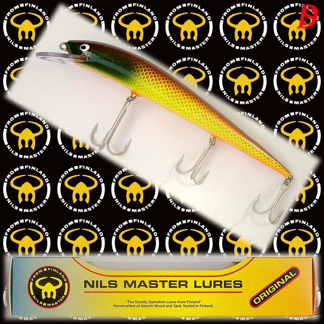 Alter Nils Master Invincible 20cm 70gr Farbcode  078 NEU&OVP wurde eingestellt