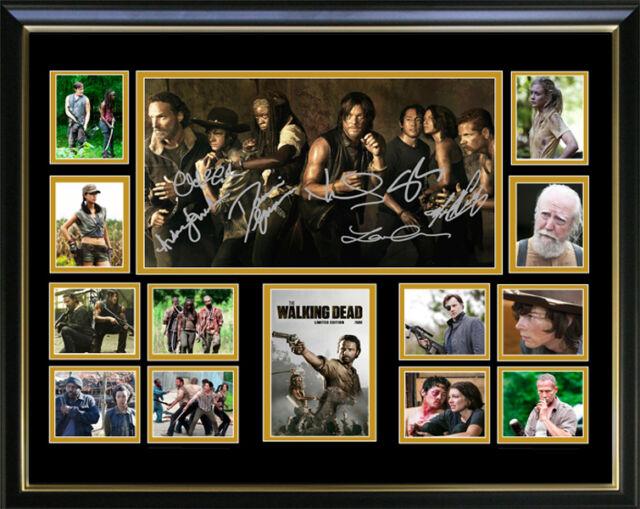 The Walking Dead Limited Edition Signed Framed Memorabilia Ebay