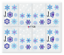 Snowflakes-Nail-Decals-Water-Decals-Nail-Stickers-Snowmen-Snowflakes-Frosty miniatuur 5