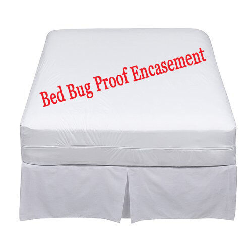 Lab Certified Bedbug Proof Mattress Cover Encasement Protector //free fittedsheet